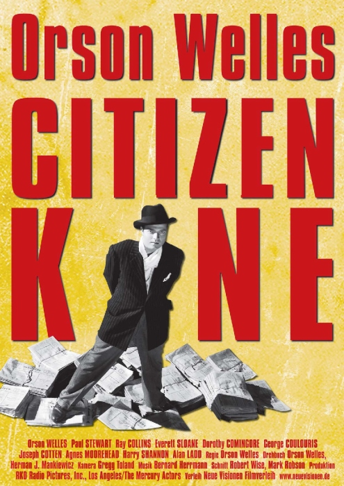 Plakat zum Film: Citizen Kane