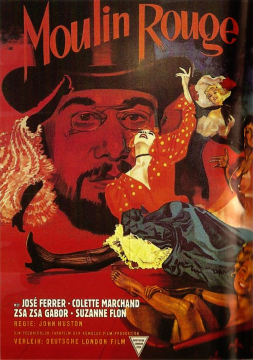 Plakat zum Film: Moulin Rouge