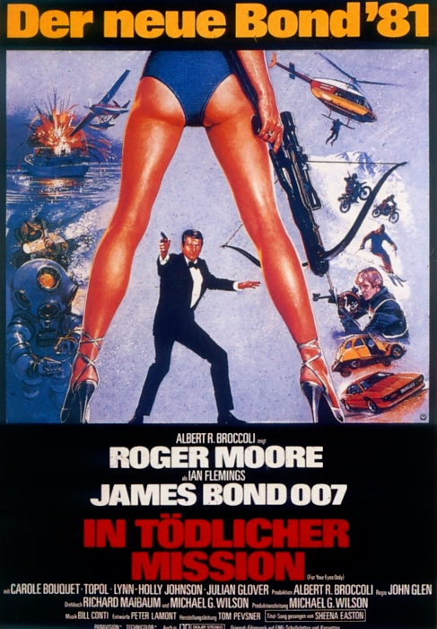 Plakat zum Film: James Bond 007 - In tödlicher Mission
