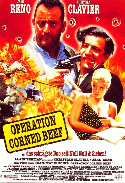 Plakat zum Film: Operation Corned Beef