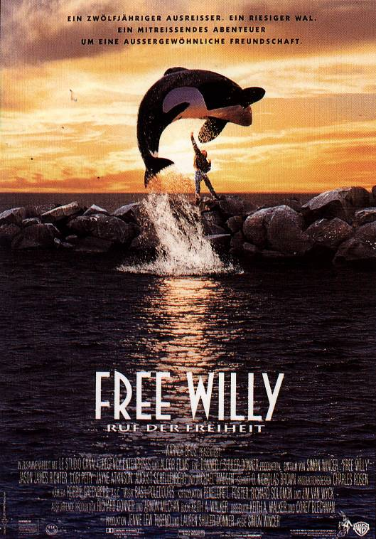 Plakat zum Film: Free Willy