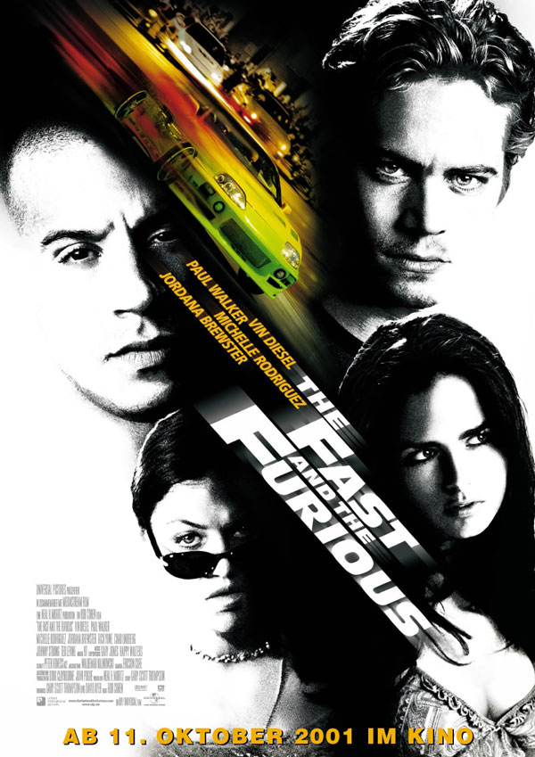 Plakat zum Film: Fast and the Furious, The