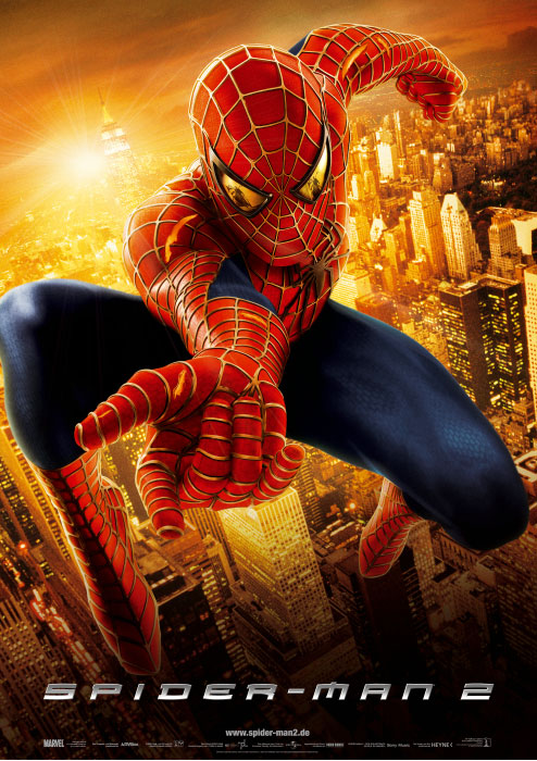 Plakat zum Film: Spider-Man 2