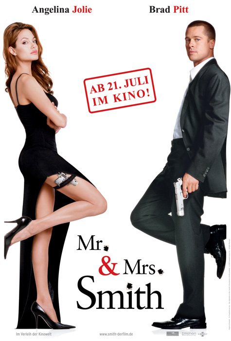 Plakat zum Film: Mr. & Mrs. Smith