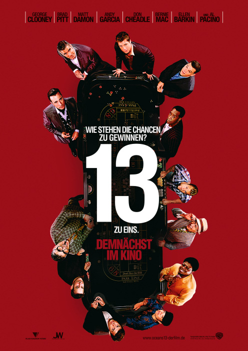 Plakat zum Film: Ocean's Thirteen