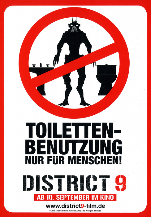 Plakat zum Film: District 9