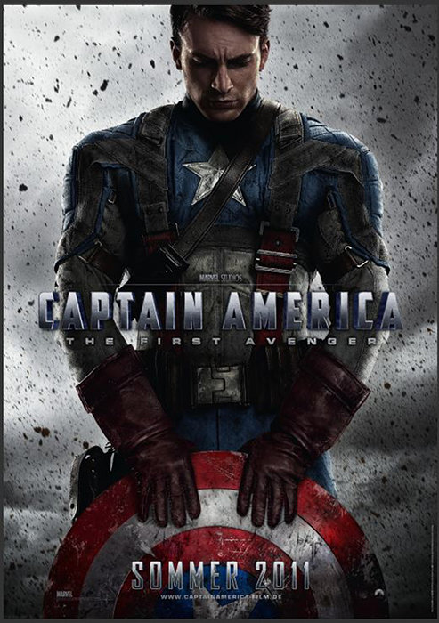 Plakat zum Film: Captain America - The First Avenger