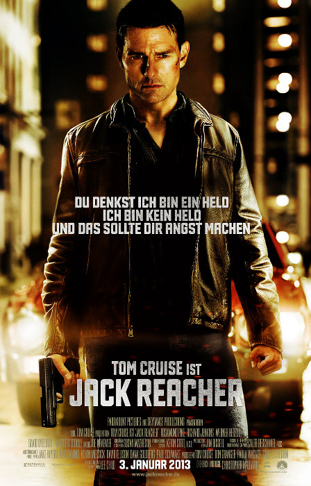 Plakat zum Film: Jack Reacher