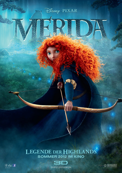 Plakat zum Film: Merida - Legende der Highlands