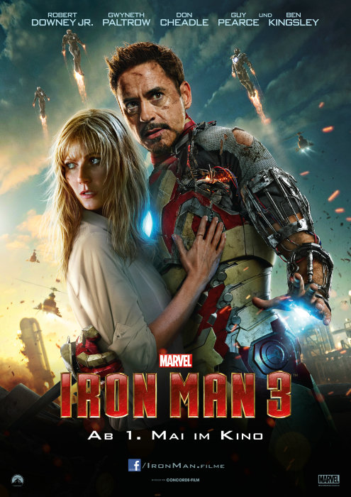 Plakat zum Film: Iron Man 3