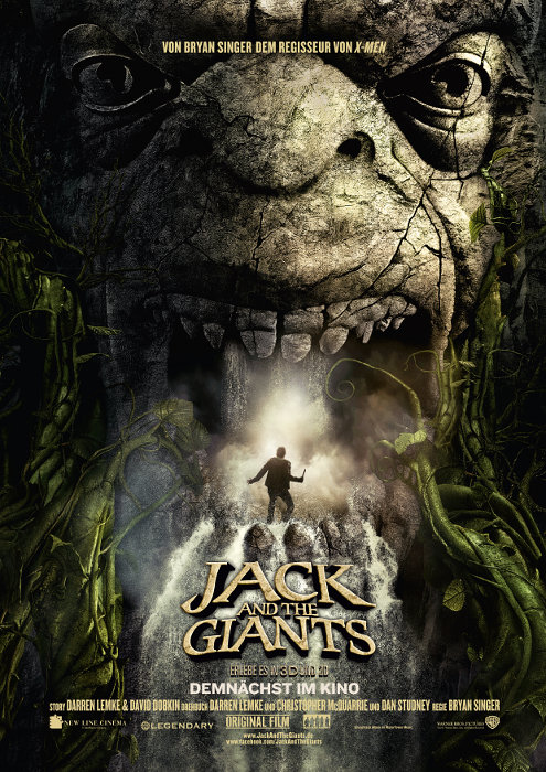 Plakat zum Film: Jack and the Giants