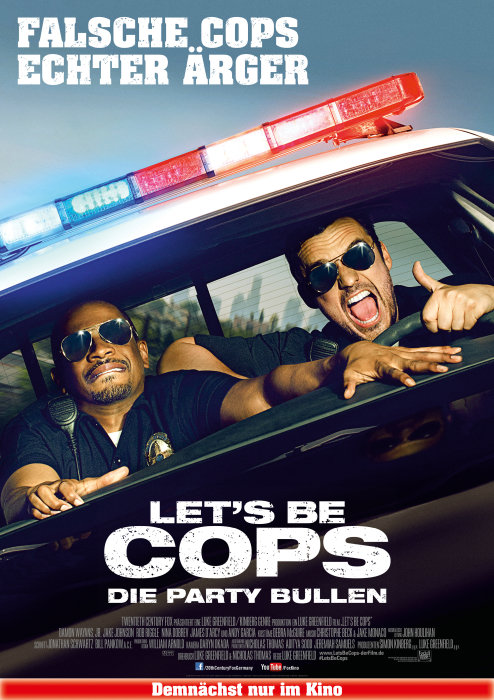 Plakat zum Film: Let's Be Cops - Die Partybullen
