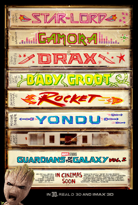 Plakat zum Film: Guardians of the Galaxy 2