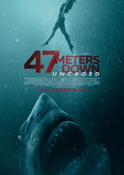 Plakat zum Film: 47 Meters Down: Uncaged