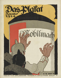 Cover Das Plakat November 1914