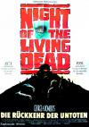 Filmplakat Night of the Living Dead - Rückkehr der Untoten, Die