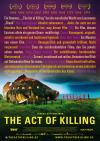 Filmplakat Act of Killing, The
